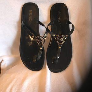 Michael Kors rubber slippers